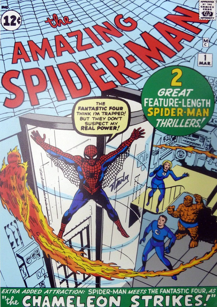 Origins: Spider-Man Amazing #1 - Marvel Art