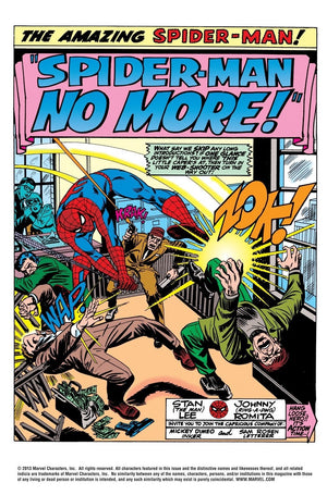 No More - Marvel Art