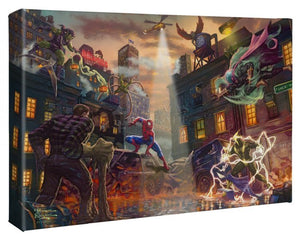 Spider-Man vs. Sinister Six - Gallery Wrap Canvas