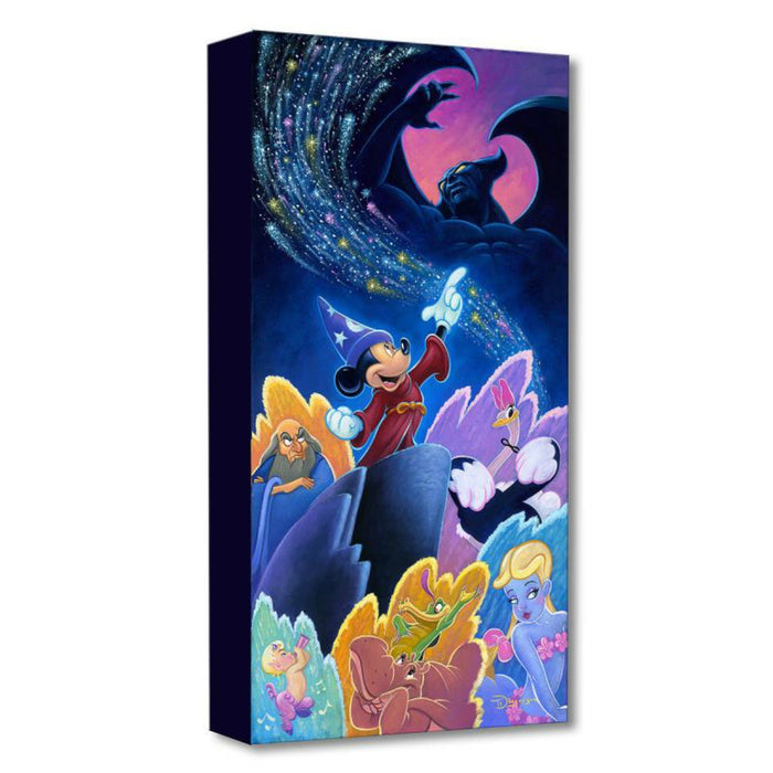 Splashes of Fantasia - Disney Treasures On Canvas