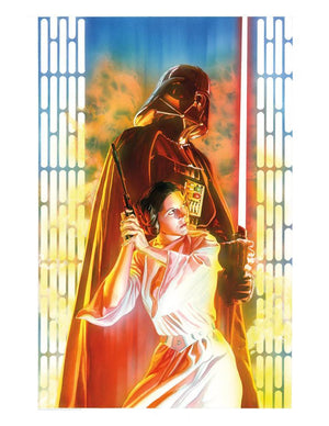 Features: Darth Vader and Princess Leia