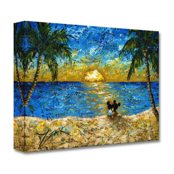 Sunset for Mickey and Minnie - Disney Treasures On Canvas