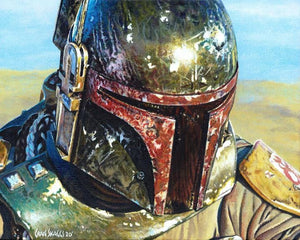 Battle Worn by Craig Skaggs  The battles of Boba Fett proudly worn - Canvas