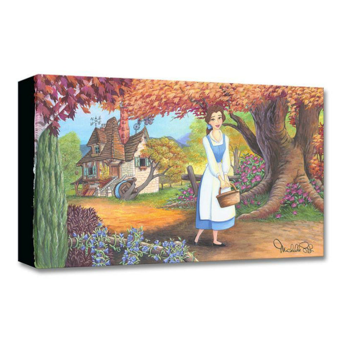 The Flowery Path - Disney Treasures On Canvas