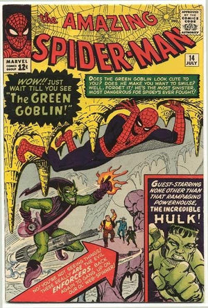 featuring the Green Goblin & Hulk in Comics Book Cover.
