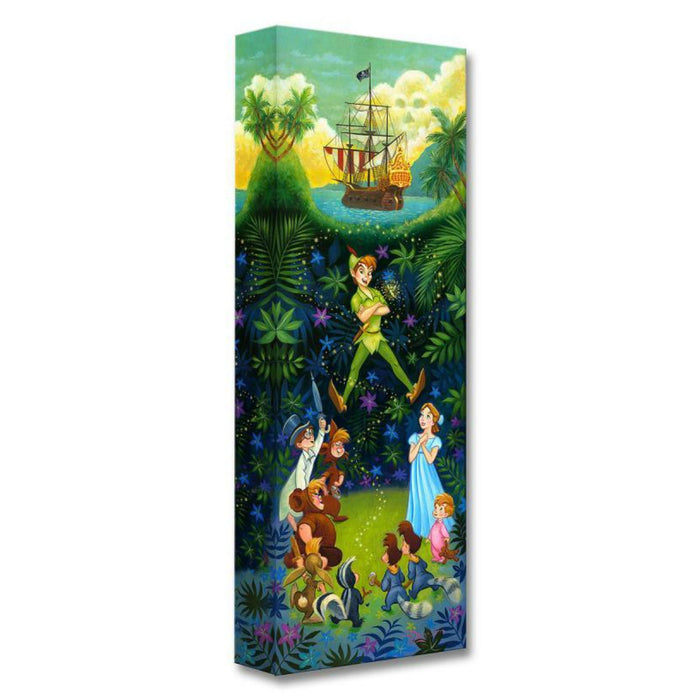 The Hero of Neverland - Disney Treasures On Canvas