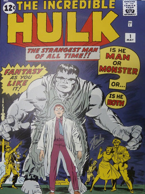 The Hulk in Marvel's Comic book cover series.