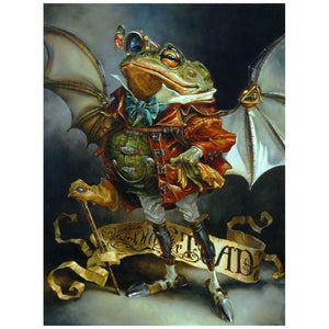 The wealthy Mr. Toad, from Legend of Sleepy Hollow, by Heather Edwards