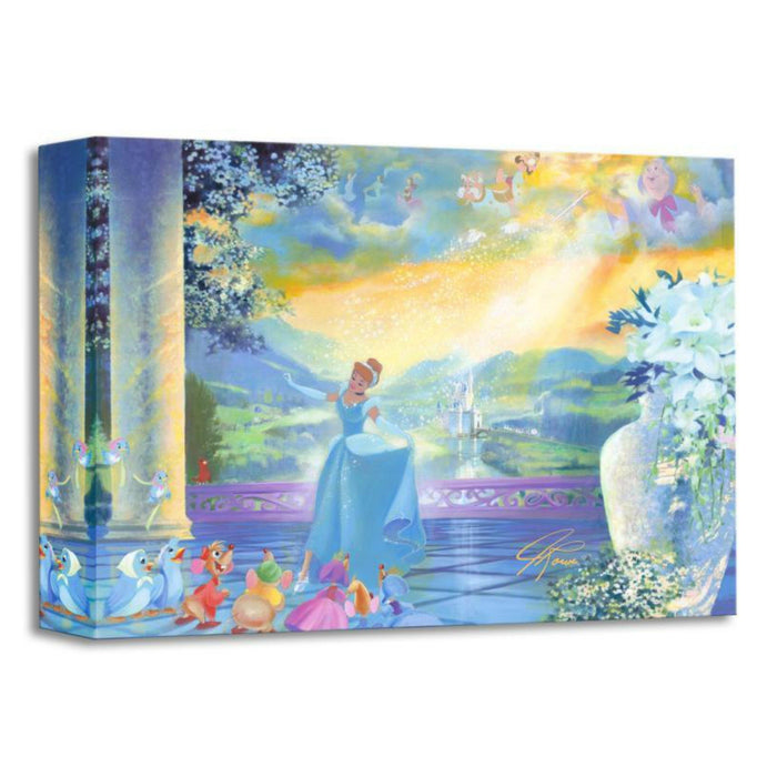 The Life She Dreams Of - Disney Treasures On Canvas