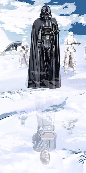 Darth Vader and the Snow Troopers,