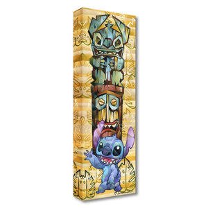 Tiki Stitch - Disney Treasures On Canvas