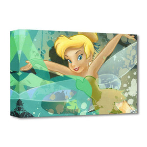 "Tinker Bell  by Ryan ""ARCY"" Christenson  Tinker Bell spreads her arms and wings..."