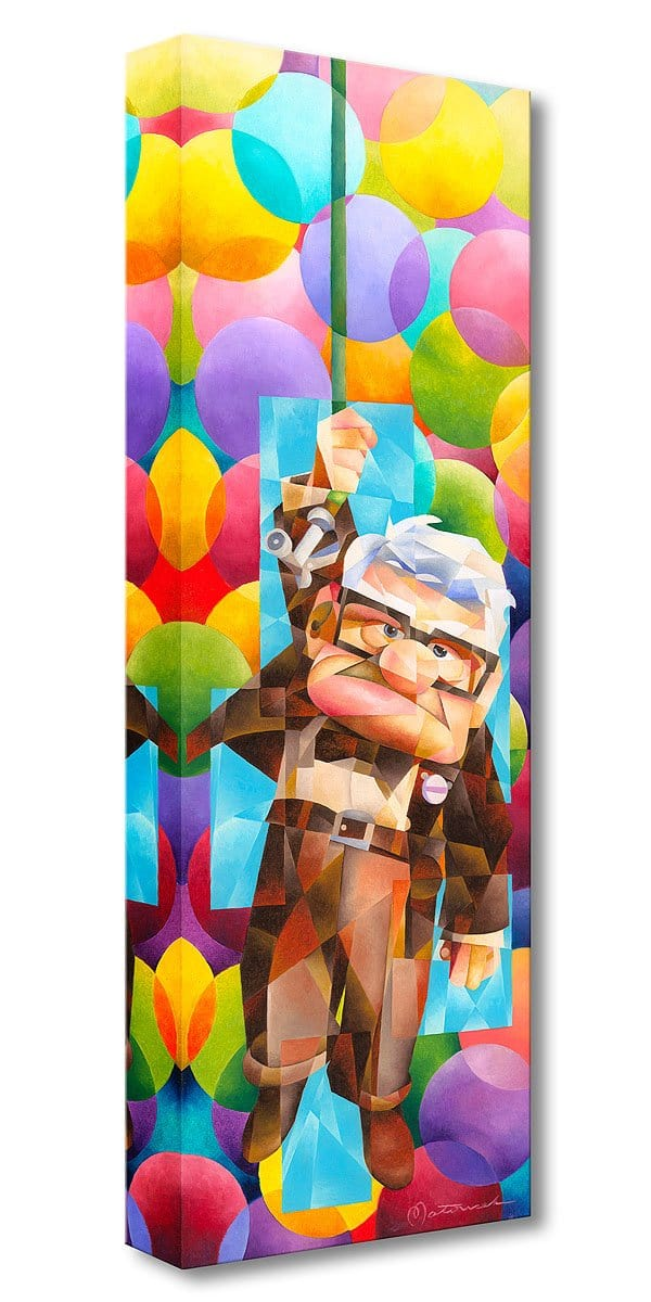 Up Goes Carl - Disney Treasures On Canvas