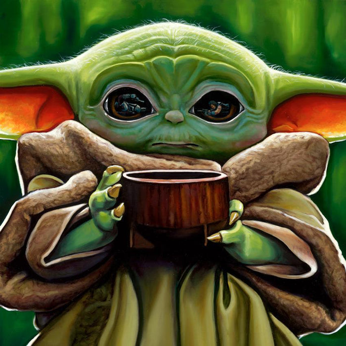 Want Some Soup - Star Wars Art