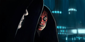 Lord Sith and Darth Maul.
