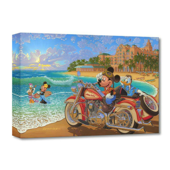 Where the Road Meets the Sea - Disney Treasures On Canvas