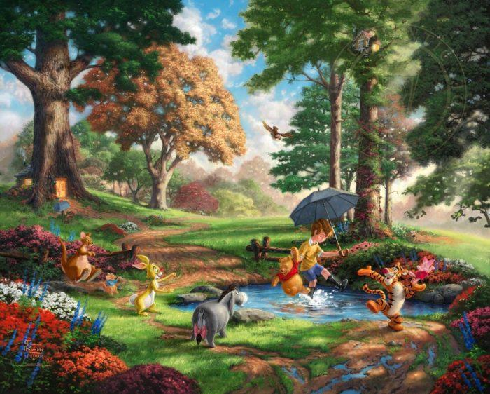 Winnie The Pooh l - Limited Edition Canvas