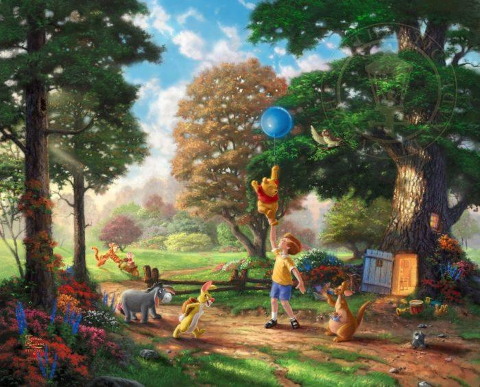 Winnie the Pooh II- Limited Edition Canvas