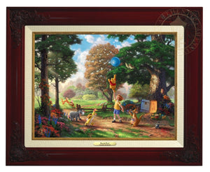 Winnie the Pooh II - Christopher Robin, Winnie the Pooh and the delightful menagerie of friends as they all adventured in the Hundred Acre Wood - Brandy Frame.