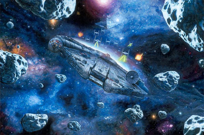 You're Not Actually Going INTO an Asteroid Field?