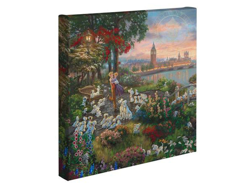Thomas Kinkade Disney Art Gallery Wrapped Collection