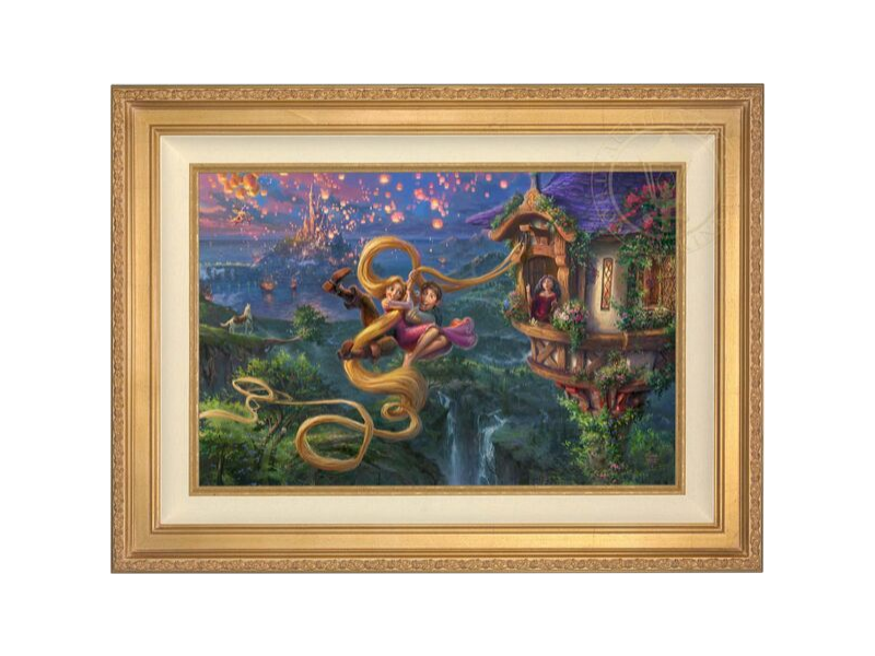 Thomas Kinkade Disney Art Limited Editions Collection