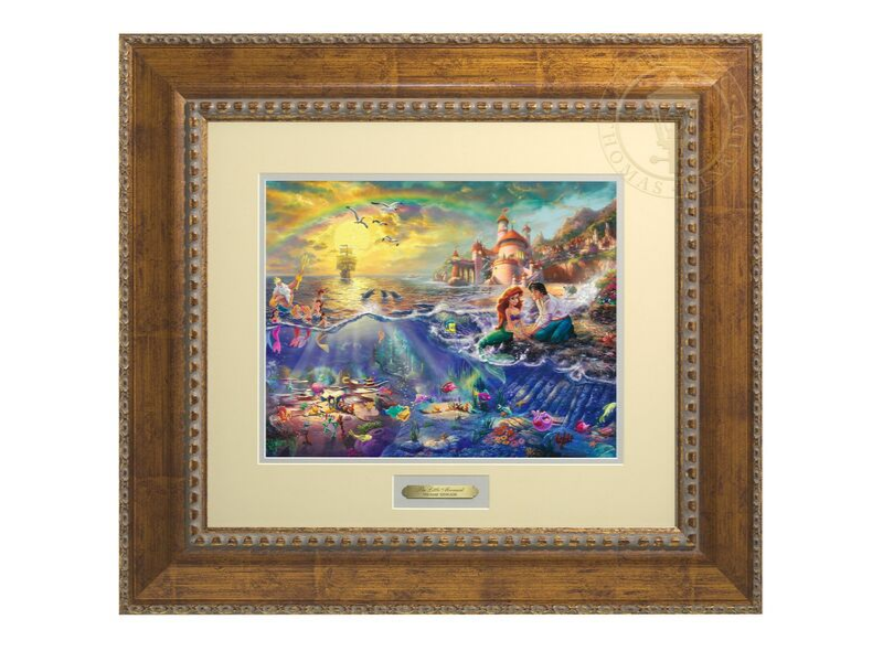Thomas Kinkade Disney Art Prestige Home Collection