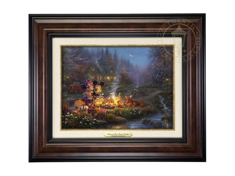 Thomas Kinkade Disney Art Canvas Classics Collection