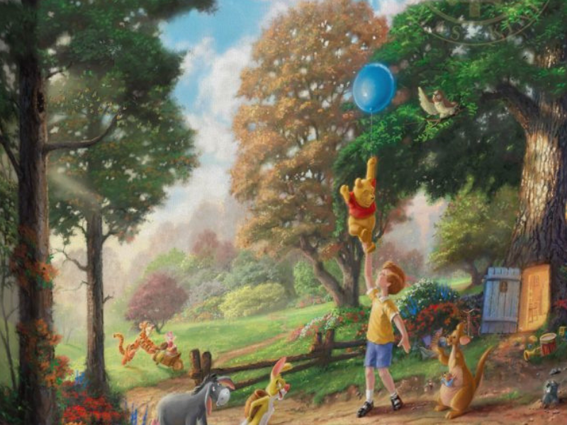 Winnie The Pooh Art Collection