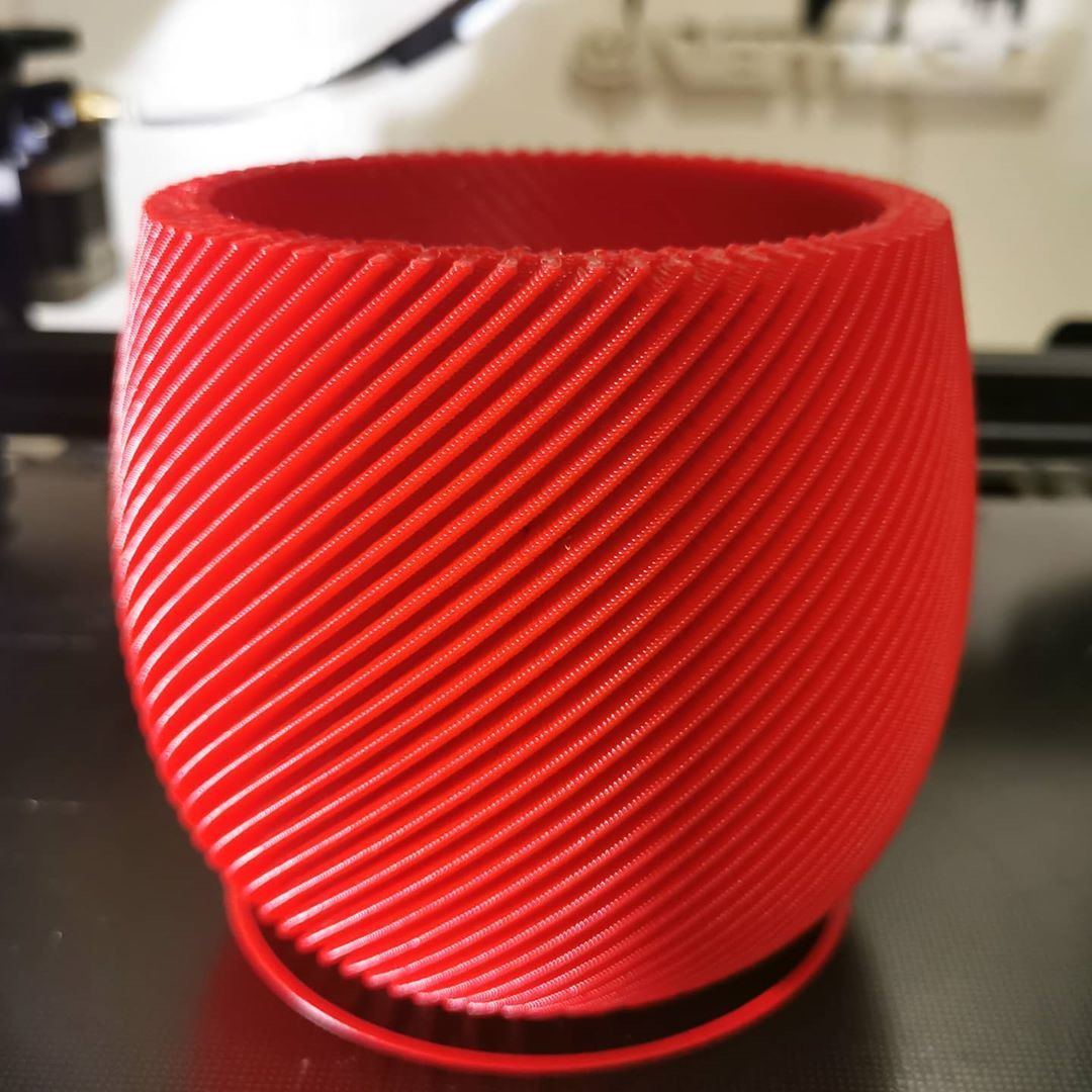 Printing share used SUNLU ABS Red filament | SunLu 3D