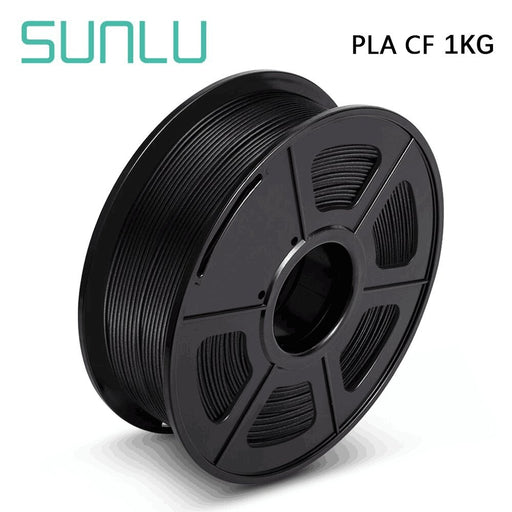 10 Rolls of PLA Carbon Fiber 1.75mm Filament 1kg/2.2lbs - SunLu 3D