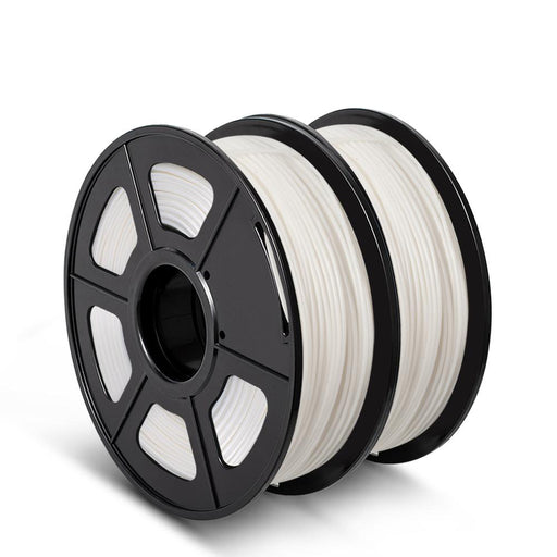 2 Rolls of PLA 3D Filament,fit most FDM printer, 2KG/4.4lbs - SunLu 3D