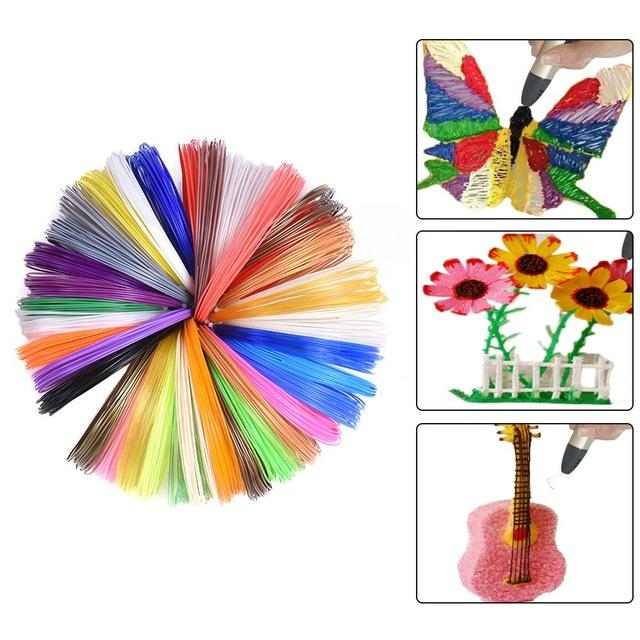 3D Pen PLA/ABS/PCL 1.75mm Colorful 3D Pen Filament. Totally 10 Colors 200 Meters Ship From China - SunLu 3D Printer Filament