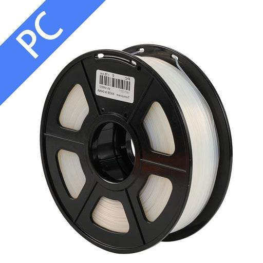 3D Printer Filament PC 1.75mm 1kg/2.2lbs Ship From China - SunLu 3D Printer Filament