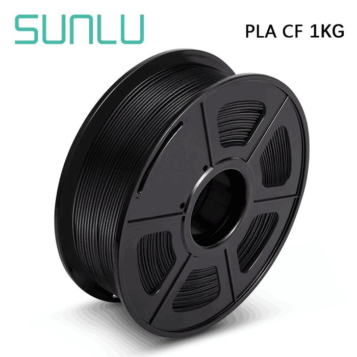5 Rolls of PLA Carbon Fiber 1.75mm Filament 1kg/2.2lbs - SunLu 3D Printer Filament