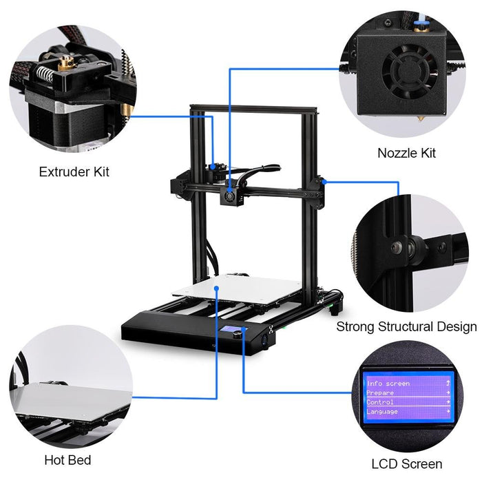 95%New SUNLU Used 3D Printer S8 ,Free shipping from the USA or European warehouse. - SunLu 3D Printer Filament