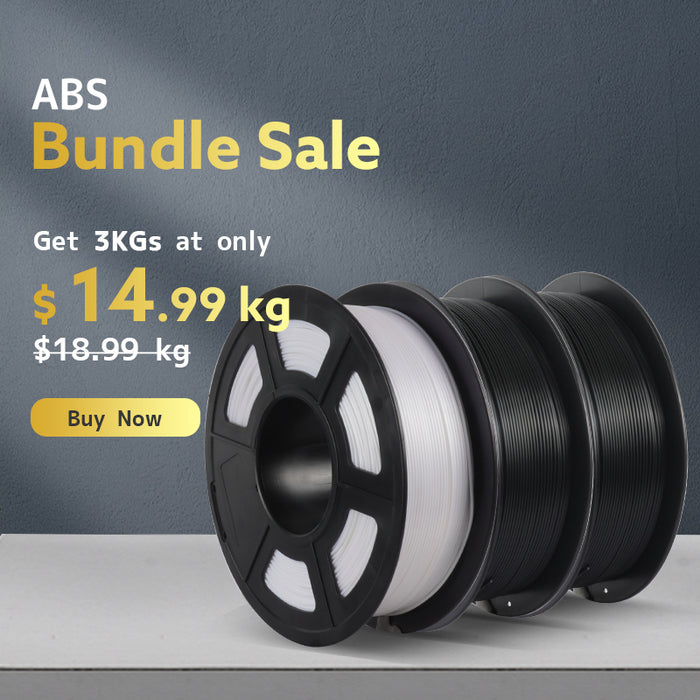 ABS 1.75mm 3D Printer Filament 1kg/2.2lbs - SunLu 3D