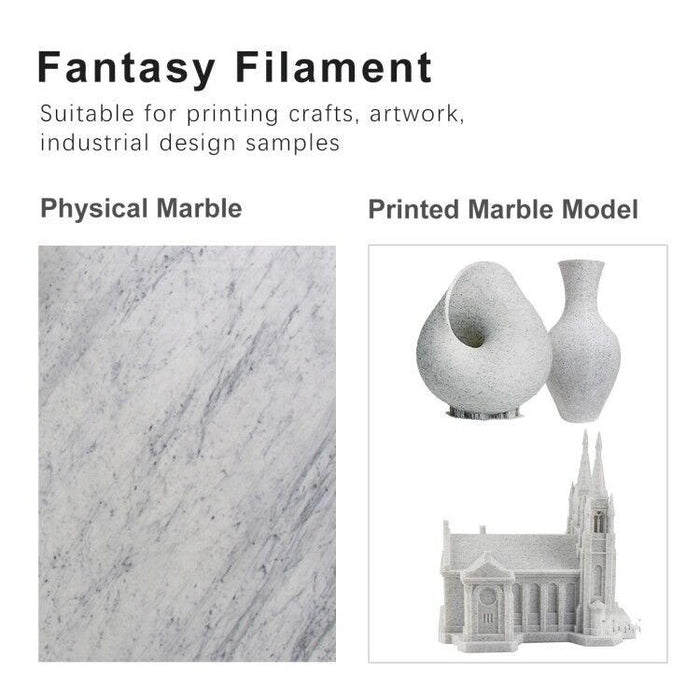 PLA Marble 1.75mm filament 1kg/2.2lbs, Fit most of FDM 3D printer - SunLu 3D Printer Filament