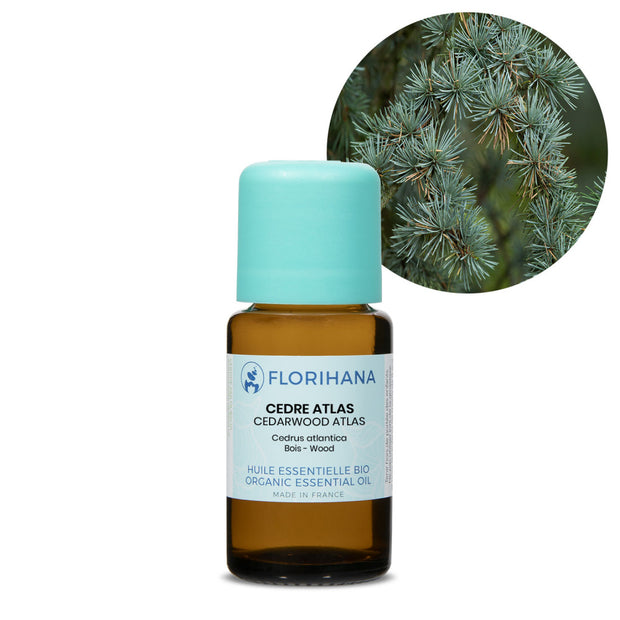 Florihana Organic Atlas Cedarwood essential oil 15g