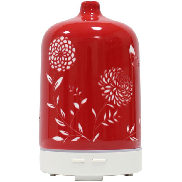Ceramic Ultrasonic Diffuser - Etched Red
