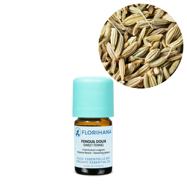 Florihana Organic Sweet Fennel Essential oil 15g