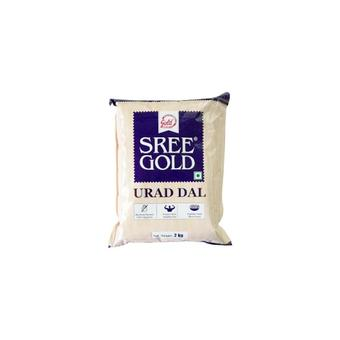 SREE GOLD URAD DHAL - WHOLE 500G