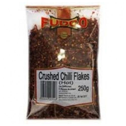 FUDCO CHILLI CRUSHED JS TRAY 250G