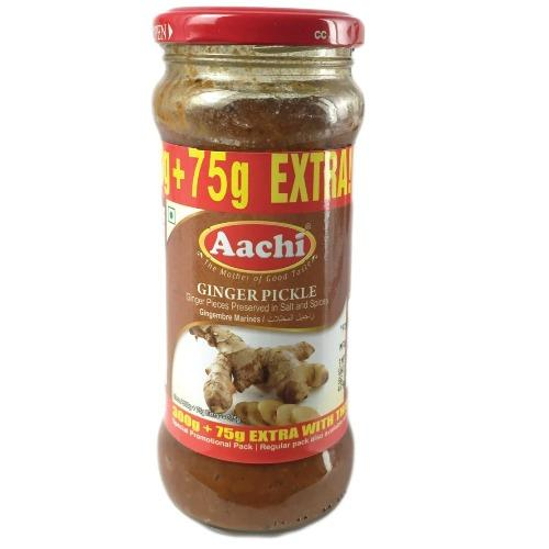 AACHI GINGER PICKLE 375G