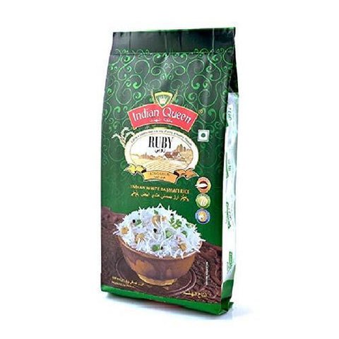 INDIAN QUEEN RUBY BASMATI RICE 5KG
