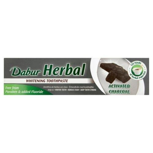 DABUR HERBAL TOOTHPASTE CHARCOAL 100ML