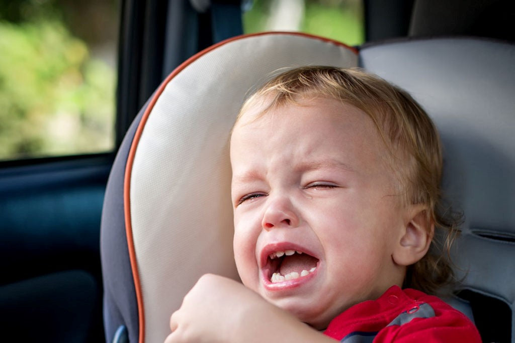 WHAT TO DO IF YOUR BABY HATES THE CAR SEAT