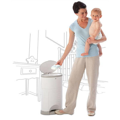 Korbell Plus 26 Litre Nappy Bin Disposal System