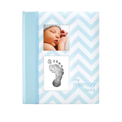 Chevron Baby Journal Blue