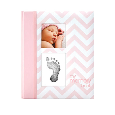 Chevron Baby Journal Pink